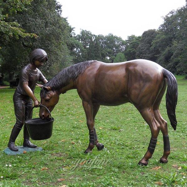 buy horse jockey statue yard decoration Australia