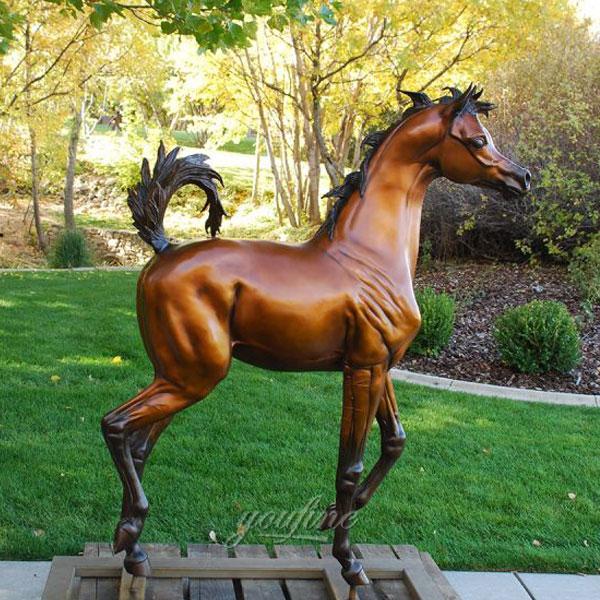 large racing jockey horse statue yard decoration Australia