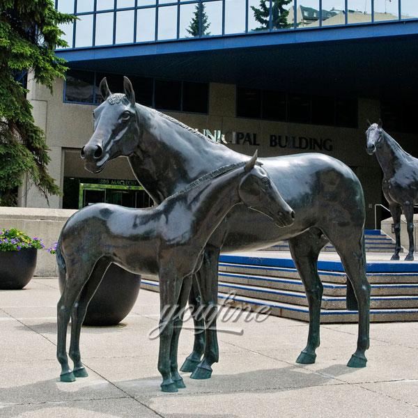 buy horse jockey statue for school China