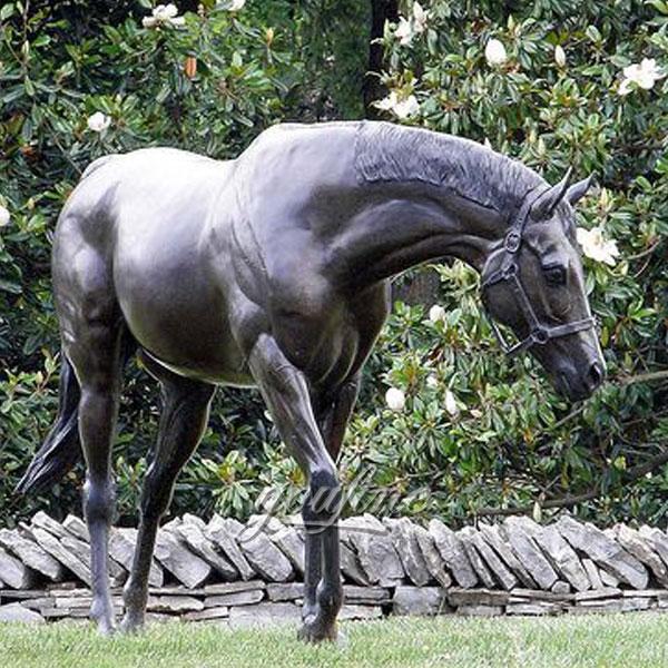large horse jockey statue replica Alibaba