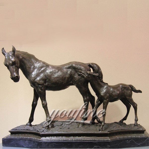 Bronze home decor life size horse bronze horse sculpture