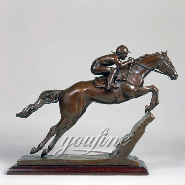 China supplier casting bronze horse figurine for home decor