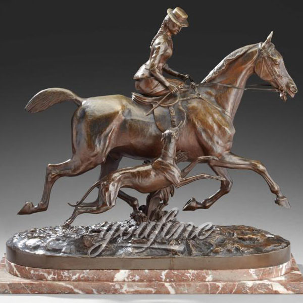 High-Quality-Outdoor-Life-Size-Bronze-Horse-Statues-for-Selling