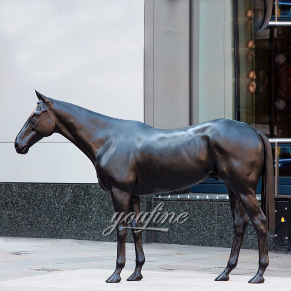 Bronze outdoor statues of horses for sale