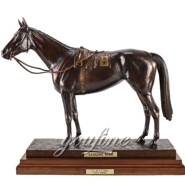Hot sale metal animal bronze horse figurine for indoor decoration