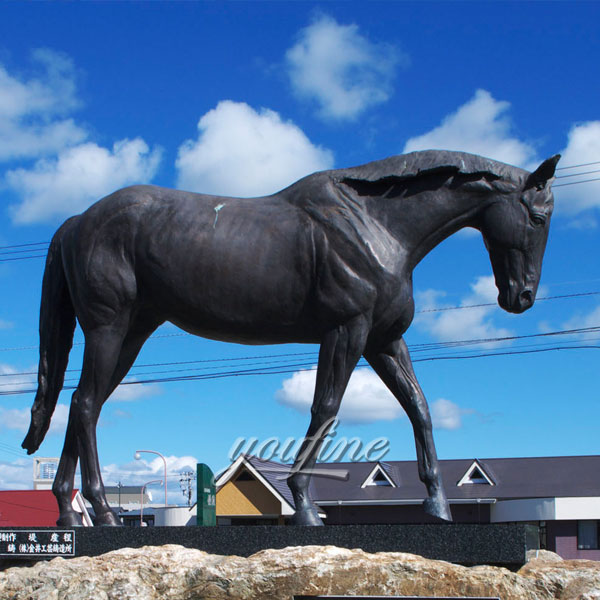 Life size bronze horse statues for sale australia customer