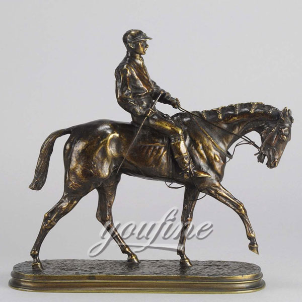 wholesale home decoration antique bronze figurinies horse statue