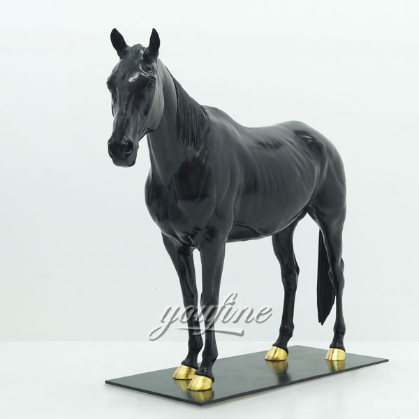 Metal cast bronze statues bronze horse  for sale