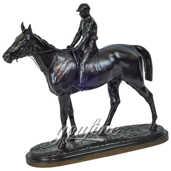 Indoor  Bronze Equestrian Horse figurinies for sale