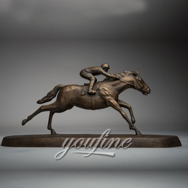 Popular bronze race horse figurinies statue  for sale