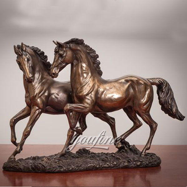 Professional Bronze Foundry antique bronze horse figurines for sale