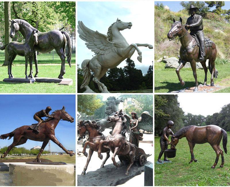 horse satue